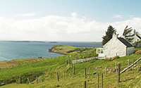 Isle of Skye Self Catering Crofters Cottage | Sleeps up to 6, Stove, Jacuzzi bath, Conservatory, Spectacular Northern views
