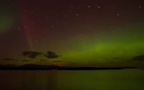 The Northern Lights Isle of Skye 2014