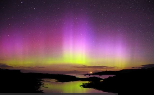 The Northern Lights in Scotland - January 2015