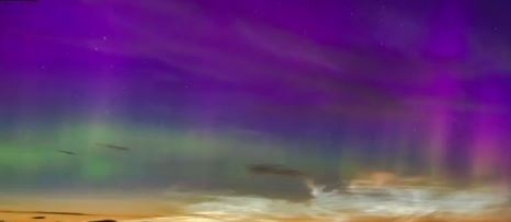 The Northern Lights in Caithness