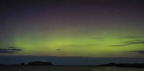 The Northern Lights in Scotland - latest pictures