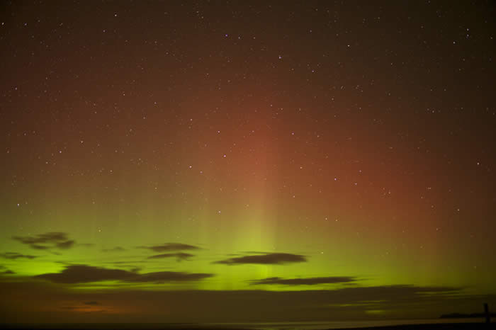 The Northern Lights in Caithness 2013