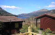 Loch Lomond and Trossachs Lodges | Sleeps 4 to 6, Argyll Forest Park Mountain and Loch Views, Lovely 13th Century Pub nearby