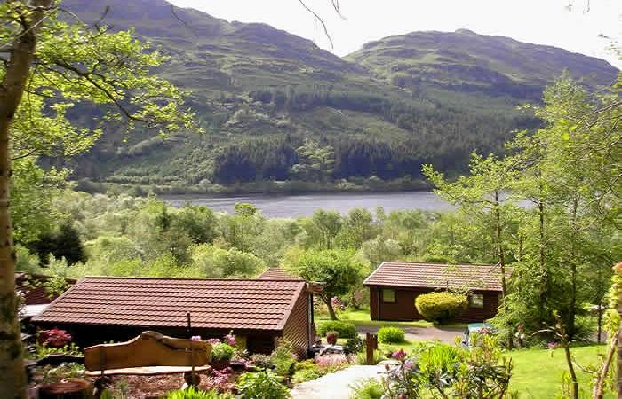 Loch Eck Log Cabin Argyll