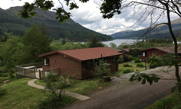 Loch Eck Luxury Cabins Argyll Sauna Jacuzzi