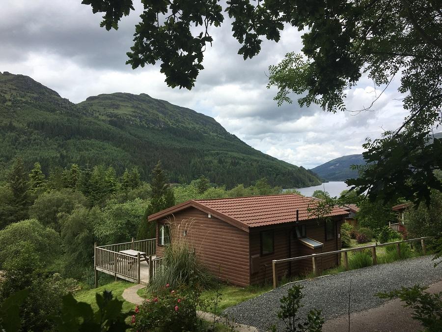 Loch Eck Luxury Log Cabins