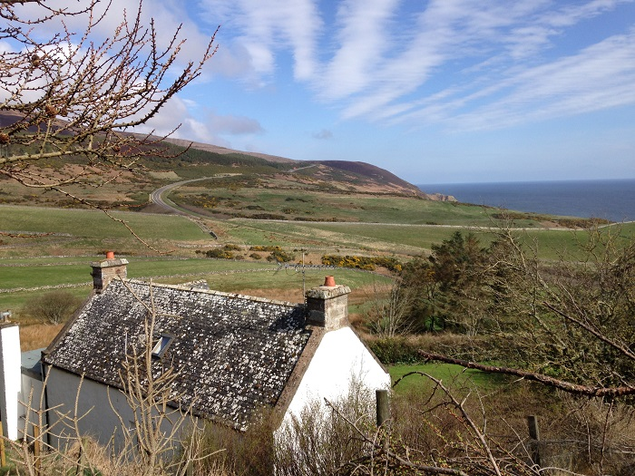 Sea View Cottage Navidale Sutherland Log Fire Hot Tub Sauna