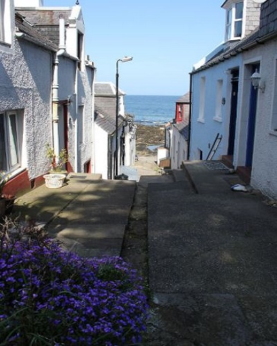 Moray Cottages: Sea View Cottage Moray Firth