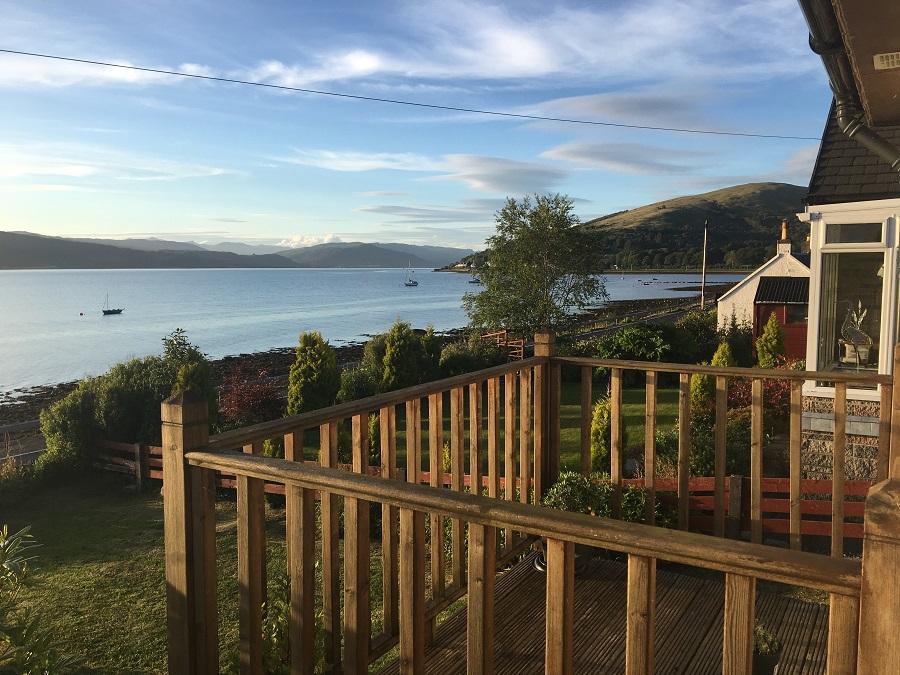 Loch Fyne Holiday Cottage Sea Views Log Fire