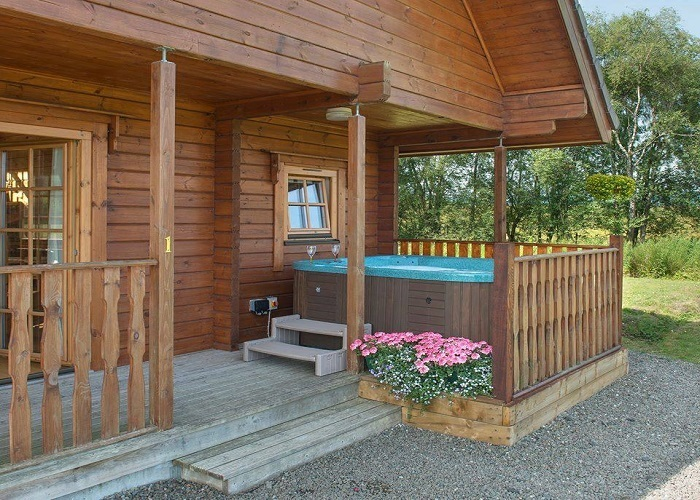 Aberfoyle Luxury 5 star Lodges Hot Tubs