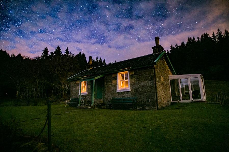 Hillside Remote Cottage Tighnabruaich Argyll
