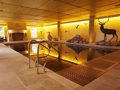 Large Highland Lodge Luxury With Swimming Pool