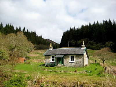 Remote Highland Country Cottage