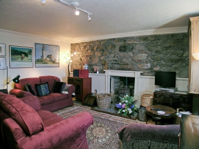 Sea View Cottage Portsoy Log Fire