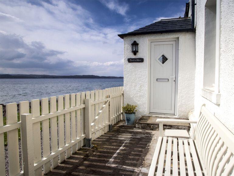 Shoreside Holiday Cottage Gairloch Highlands