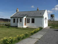 Isle of Harris Holiday Cottage Sea Views Log Fire